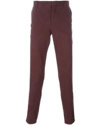Pantalón Chino Burdeos de Kenzo