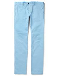 Pantalón Chino Celeste de Burberry