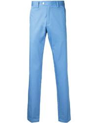 Pantalón chino celeste de Kent & Curwen