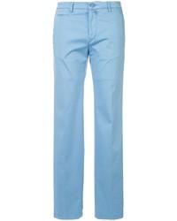 Pantalón chino celeste de Kiton