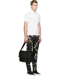 Pantalón Chino de Flores Negro de Givenchy