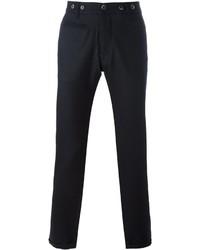 Pantalón chino de lana azul marino de Barena
