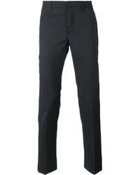Pantalón chino de lana azul marino de Dondup