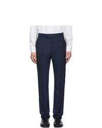 Pantalón chino de lana azul marino de Maison Margiela