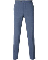 Pantalón chino de lana azul