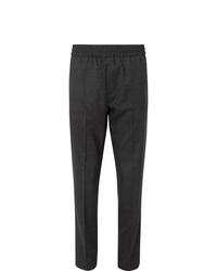 Pantalón chino de lana en gris oscuro de Acne Studios