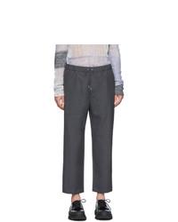 Pantalón chino de lana en gris oscuro de Oamc
