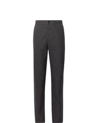 Pantalón chino de lana en gris oscuro de Oliver Spencer