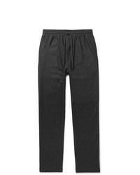 Pantalón chino de lana en gris oscuro de YMC