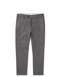 Pantalón chino de lana gris de Brunello Cucinelli