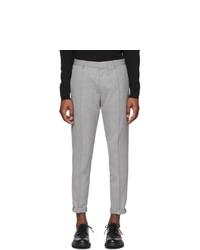 Pantalón chino de lana gris de Hugo