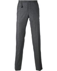Pantalón chino de lana gris de Incotex
