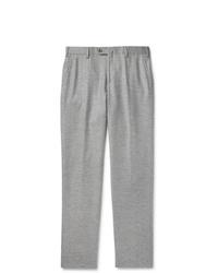 Pantalón chino de lana gris de Loro Piana