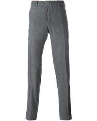 Pantalón chino de lana gris de Pt01