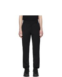 Pantalón chino de lana negro de Balmain