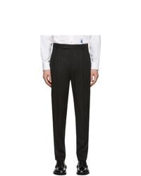 Pantalón chino de lana negro de Paul Smith