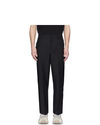 Pantalón chino de lana negro de Valentino