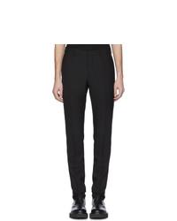 Pantalón chino de lana negro de Versace