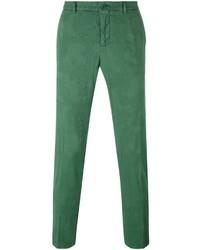 Pantalón chino de lana verde