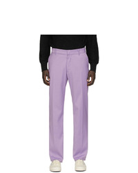 Pantalón chino de lana violeta claro de Noon Goons