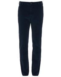 Pantalón chino de pana azul marino
