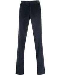 Pantalón chino de pana azul marino de Canali