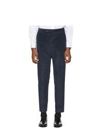Pantalón chino de pana azul marino de Paul Smith