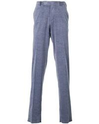 Pantalón chino de pana azul de Ermenegildo Zegna