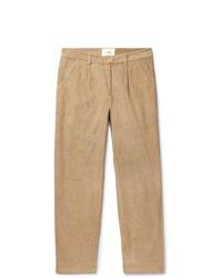 Pantalón chino de pana marrón claro de Folk