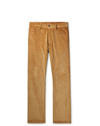 Pantalón chino de pana marrón claro de Missoni