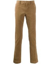 Pantalón chino de pana marrón claro de Polo Ralph Lauren