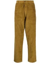 Pantalón chino de pana mostaza de Universal Works