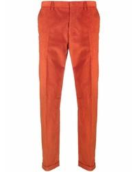 Pantalón chino de pana naranja de Paul Smith
