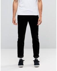 Pantalón chino de pana negro de Edwin