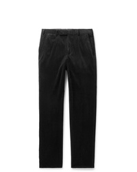 Pantalón chino de pana negro de Ermenegildo Zegna