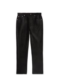 Pantalón chino de pana negro de Séfr