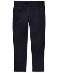 Pantalón chino de sarga azul marino de Maison Margiela