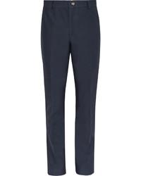 Pantalón Chino de Sarga Azul Marino de Thom Browne