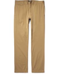 Pantalón chino de sarga marrón claro de Alex Mill