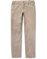 Pantalón Chino de Sarga Marrón Claro de Polo Ralph Lauren