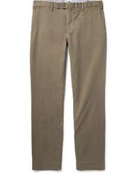 Pantalón Chino de Sarga Marrón de Polo Ralph Lauren