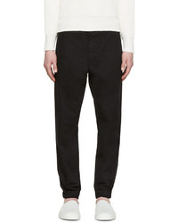 Pantalón chino de sarga negro de Tiger of Sweden