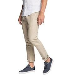 Pantalón chino en beige de edc by Esprit