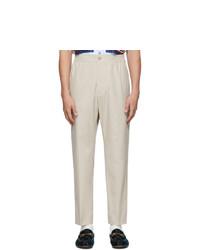 Pantalón chino en beige de Gucci