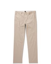 Pantalón chino en beige de Hugo Boss