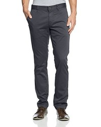Pantalón chino en gris oscuro de Boss Orange