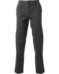 Pantalón chino en gris oscuro de Burberry