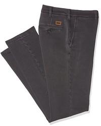 Pantalón chino en gris oscuro de Carrera