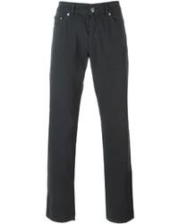 Pantalón chino en gris oscuro de Etro