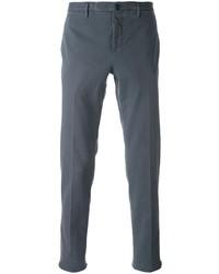 Pantalón chino en gris oscuro de Incotex